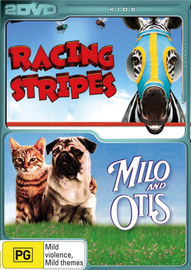 Racing Stripes / The Adventures Of Milo And Otis (2 Disc Set) on DVD image