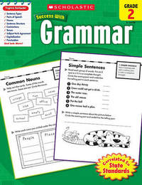 Scholastic Success with Grammar, Grade 2 image