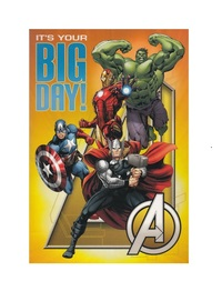 Marvel: Avengers Interactive Birthday Card