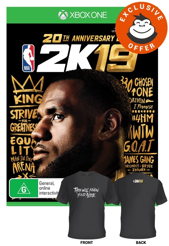 NBA 2K19 Anniversary Edition for Xbox One image