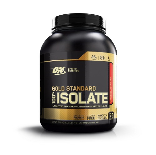 Optimum Nutrition: Gold Standard 100% Isolate - Strawberry Cream (2.28kg)