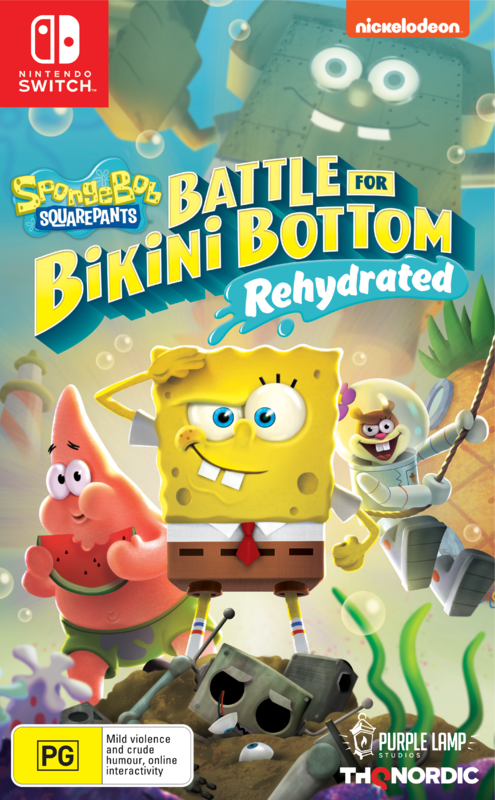 SpongeBob Squarepants: Battle for Bikini Bottom Rehydrated for Switch