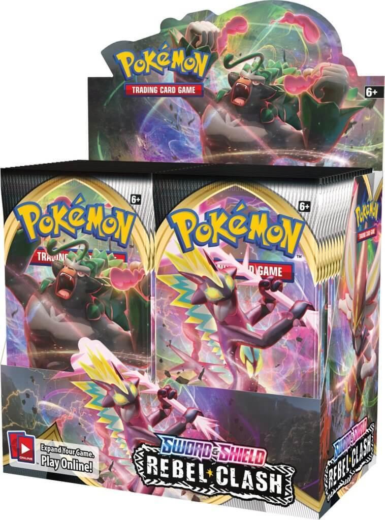 Pokemon TCG: Sword and Shield - Rebel Clash Booster Box image