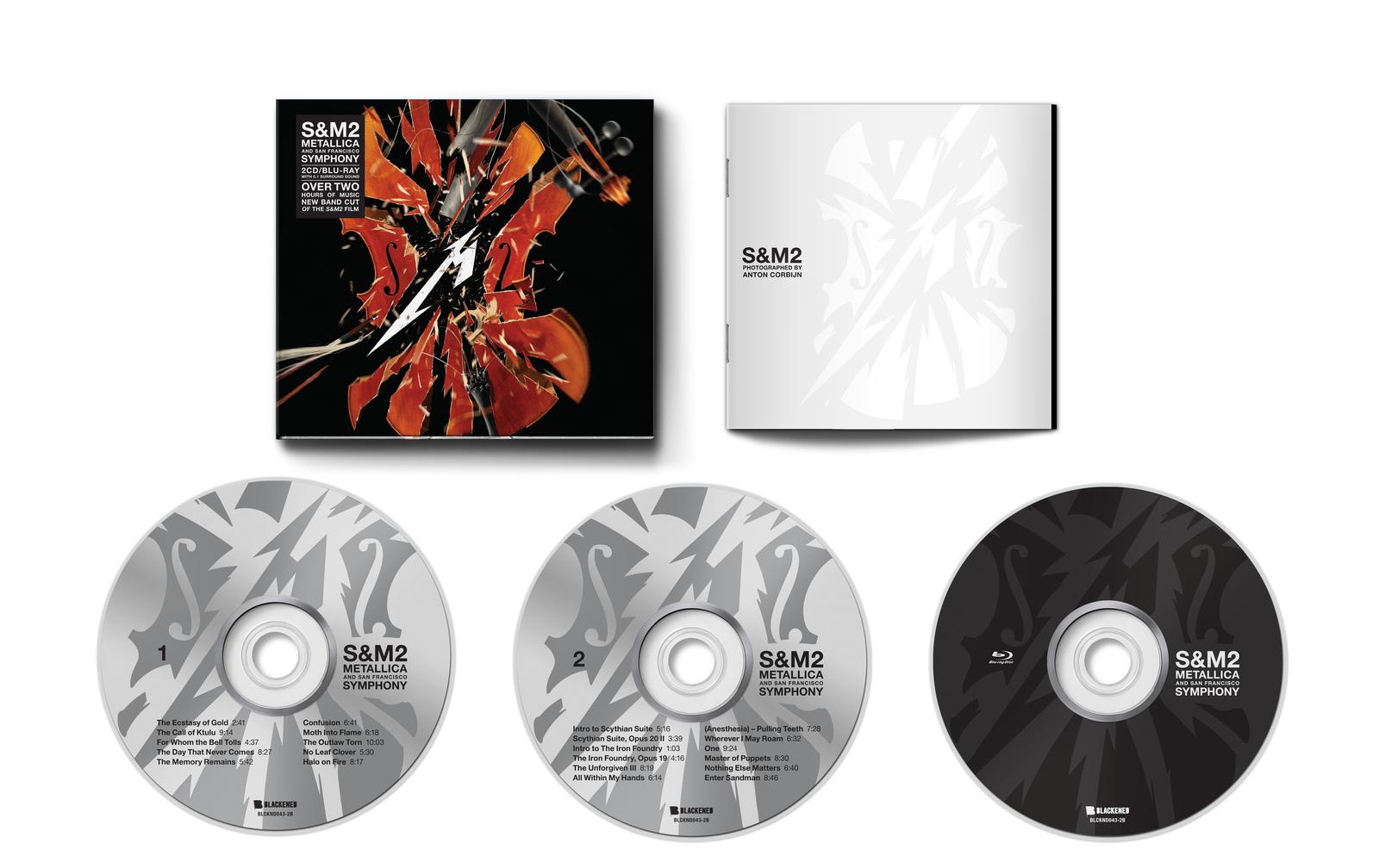 S&M2 (Blu-Ray/CD) by Metallica image