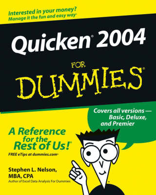 Quicken 2004 For Dummies by Stephen L. Nelson
