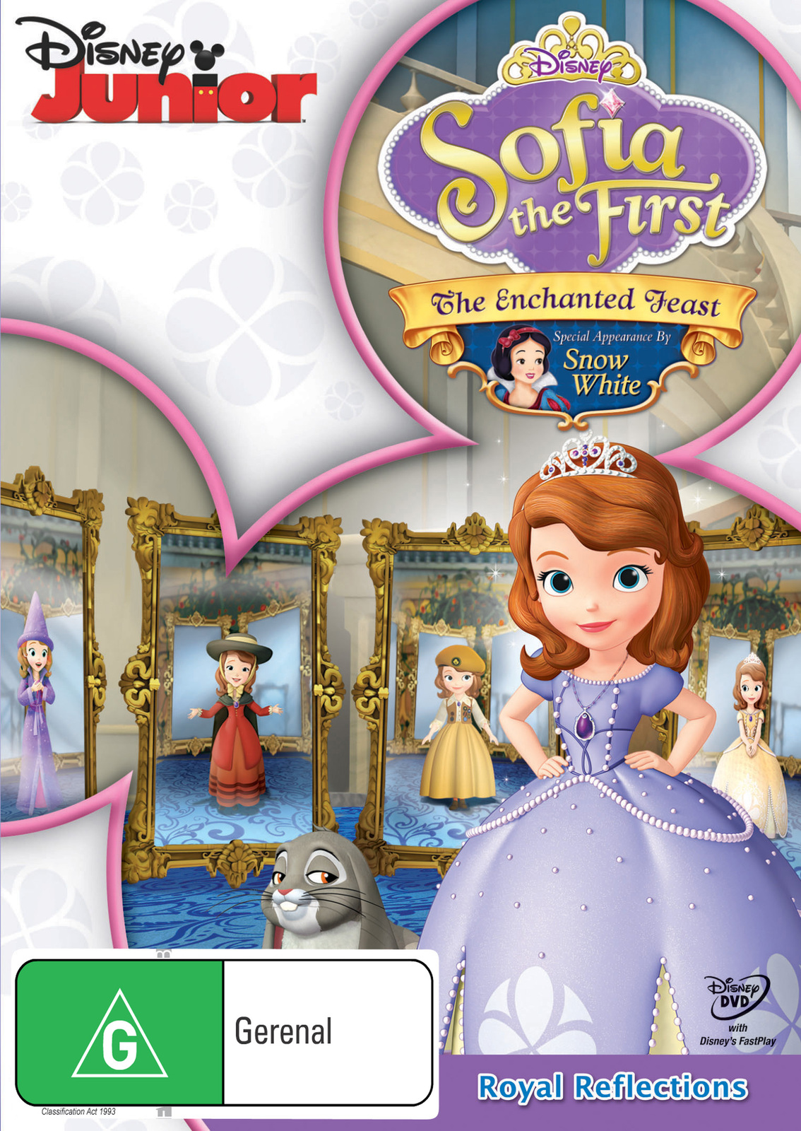 Sofia the First: The Enchanted Feast on DVD image