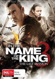 In the Name of the King 3: The Last Mission on DVD