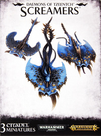 Warhammer Tzeentch Daemons: Screamers
