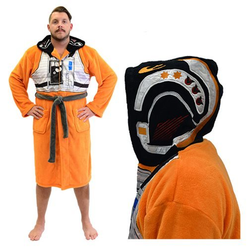 Star Wars Hooded Fleece Bathrobe (X-Wing Pilot) image