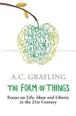 The Form of Things by A.C. Grayling image