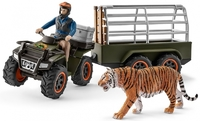 Schleich: Quad Bike with Trailer and Ranger