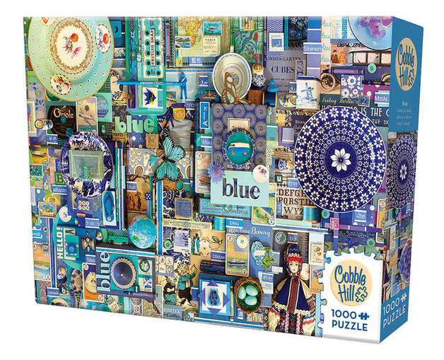 Cobble Hill: The Rainbow Project (Blue) - 1000pc Puzzle