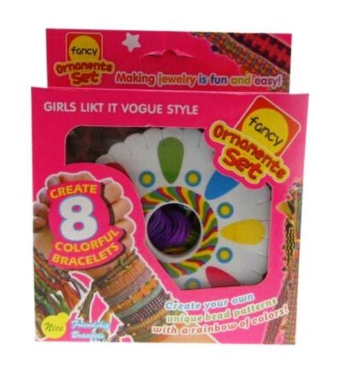 Friendship Bracelet Craft Set - (Assorted Designs) image