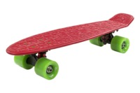 Flybar: Mini Cruiser Skateboard - Red/Green