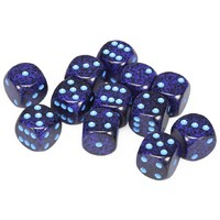Chessex: D6 16mm Speckled Dice - Cobalt