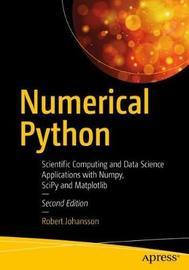 Numerical Python by Robert Johansson
