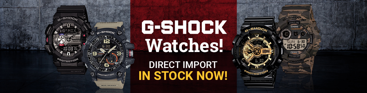 Huge Range of G-Shock Available Now!