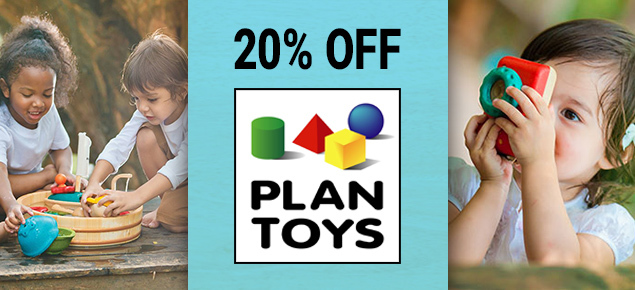 20% off Plan toys!