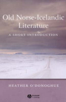 Old Norse-Icelandic Literature by Heather O'Donoghue image