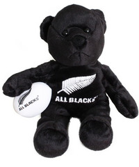 All Blacks Bean Bag Bear