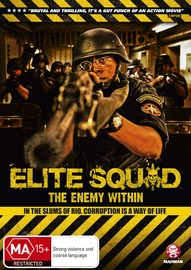 Elite Squad - The Enemy Within on DVD