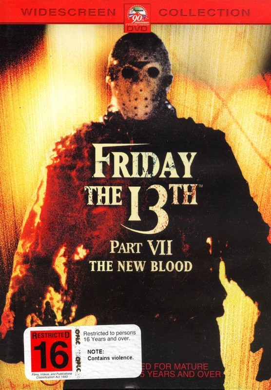 Friday The 13th Part 7 - The New Blood (New Packaging) on DVD