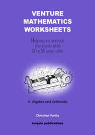 Venture Mathematics Worksheets: Bk. A by Christian Puritz