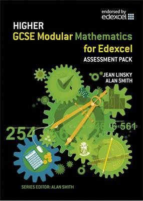 Edexcel GCSE Modular Maths: Higher Assessment Pack by Jean Linsky image