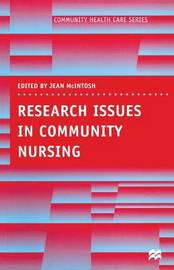 Research Issues in Community Nursing by Jean McIntosh image