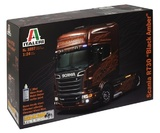Italeri: 1:24 Scania R730 (Black Amber) - Model Kit