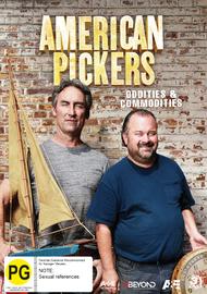 American Pickers: Oddities & Commodities on DVD