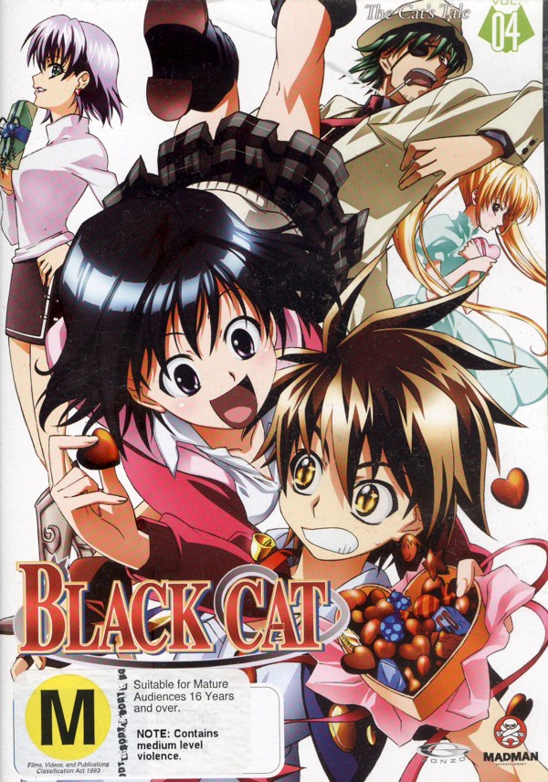 Black Cat - Vol. 4: A Cat's Tale on DVD image