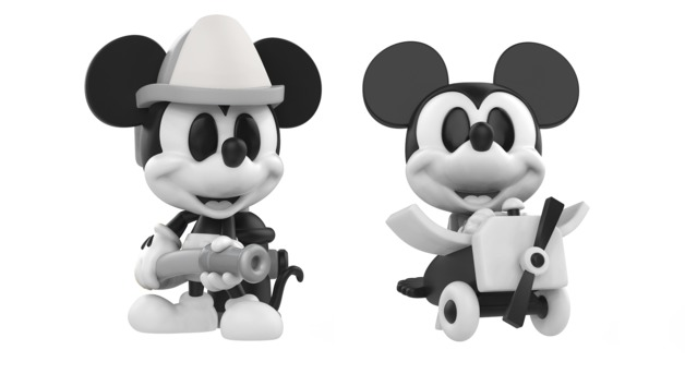 Mickey Mouse (Black & White) - Mini Figure Set