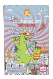 Tiger Tribe: 3D Colouring Set - Sci-Fi Fun