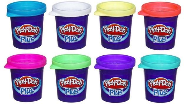 Play-Doh Plus Colour Set 8-Pack