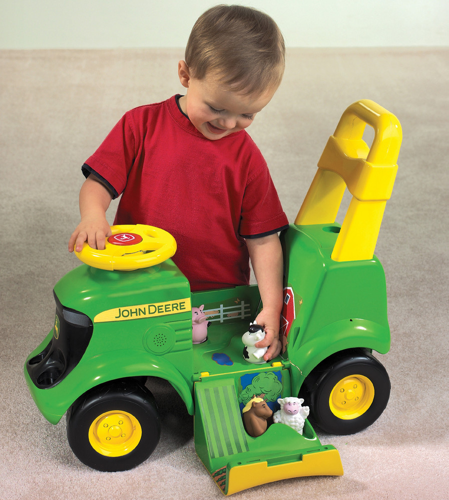 John Deere: Sit & Scoot - Activity Tractor with Sounds & Figures image