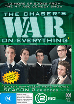Chaser's War On Everything, The - Season 2: Vol. 1 - Episodes 1-13 (2 Disc Set) on DVD