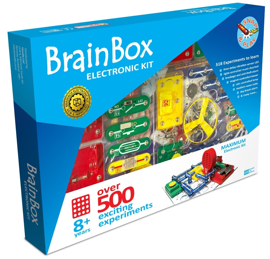 Brain Box: Maximum Electronic Kit