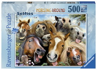 Ravensburger 500 Piece Jigsaw Puzzle - Horsing Around
