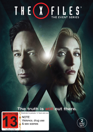 The X-Files Event Series 2016 on DVD image