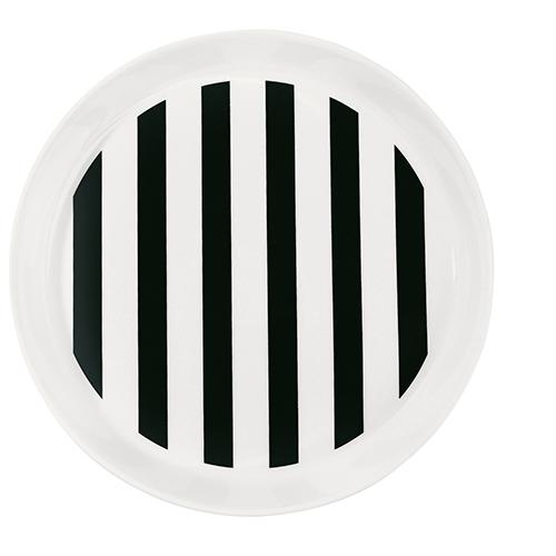 Miss Étoile - Black Stripe Plate