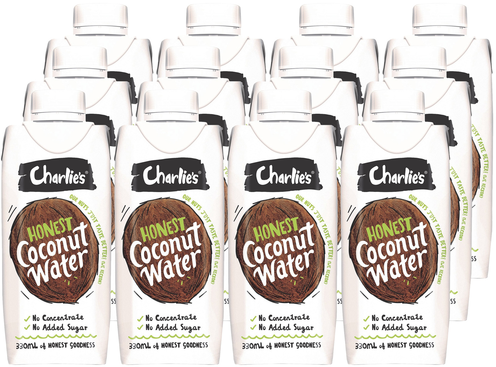 Charlie's Honest Coconut Water - 12x330mL image