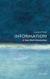 Information: A Very Short Introduction by Luciano Floridi image