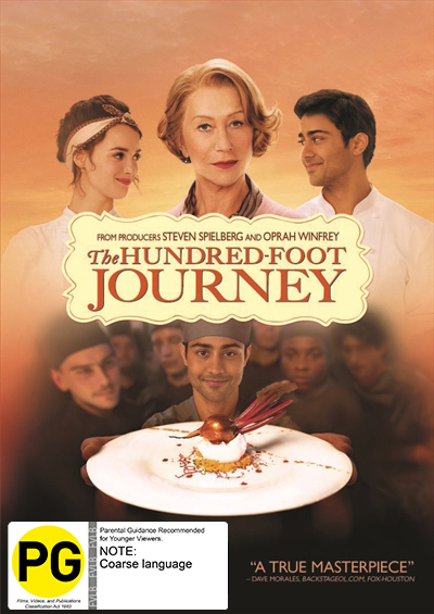 The Hundred-Foot Journey on DVD