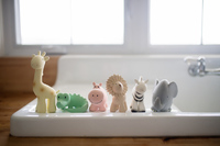 Tikiri: My First Zoo - Hippo Rattle Toy