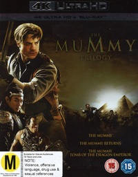 The Mummy Trilogy on Blu-ray, UHD Blu-ray