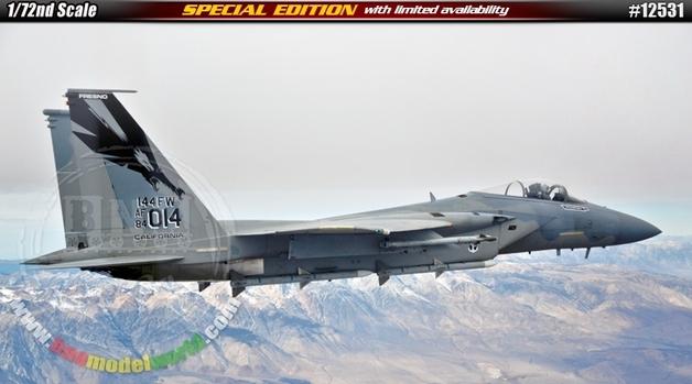 Academy 1/72 F-15C Ltd Etdn Scale Model Kit