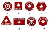 Team Yankee: Canadian Token Set image