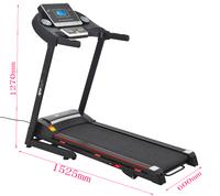 Ape Style FX500 Home Gym Fitness Foldable Treadmill