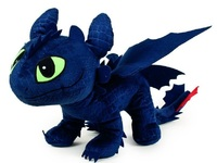 How to Train Your Dragon: Toothless (23cm) - Plush Figure